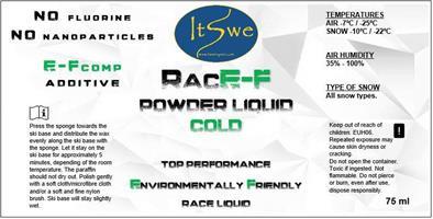 RACE-F POWDER LIQUID