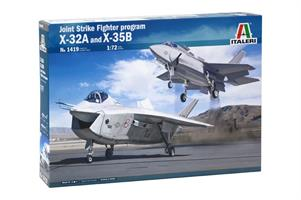 JSF Program X-32A and X-35B