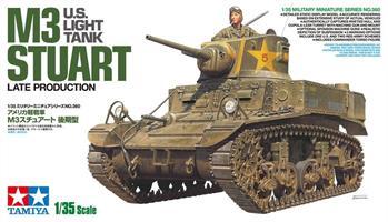 U.S. Light Tank M3 Stuart Late Production