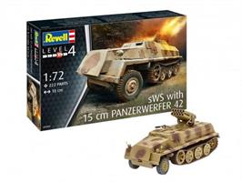 sWs with 15cm Panzerwerfer 42