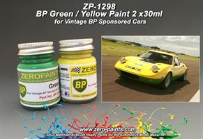 BP Green and Yellow Paints 2x30ml