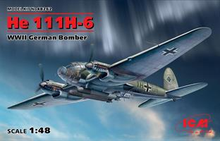 He 111H-6, WWII German Bomber