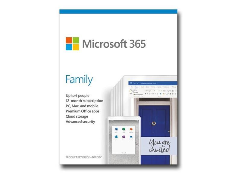 MS 365 FAMILY 6ANV 1ÅR