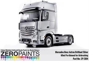 Mercedes-Benz Actros Brilliant Silver Paint 60ml