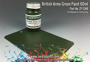 British Army Green (Land Rovers) Paint 60ml