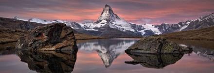 Komar fototapet Matterhorn