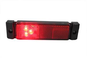 Positionsljus LED Röd 12/24V