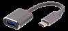 ADAPTER, USB C 3.1/M-USB A/F 11CM