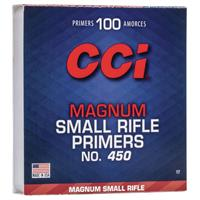 TÄNDHATT CCI 450 MAGNUM SMALL RIFLE (100)