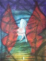 Elling Reitan-Vill Sommerfugl Aquatint