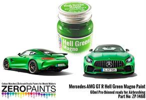 Mercedes AMG GT R Hell Green (Matt) Paint 60ml
