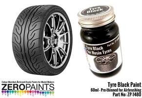 Tyre Black Paint 60ml