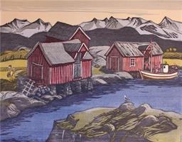 Lars Christian Istad-Sjøhus bak holmen