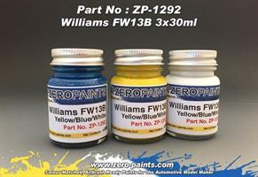 Williams Renualt FW13B - 3x30ml