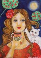 Brit H Smestad-Katt og kaffekos