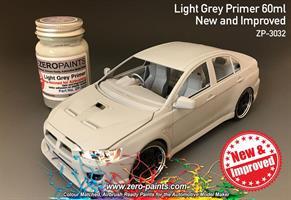 Light Grey Primer 60ml Airbrush Ready