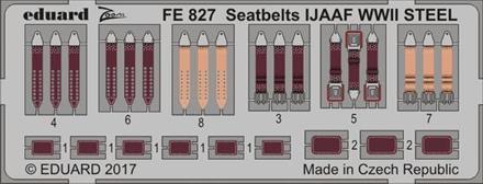 Seatbelts IJAAF WWII