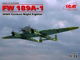 Focke-Wulf Fw-189A-1 WWII German Night Fighter
