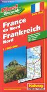 Frankrike norra 1:600 000