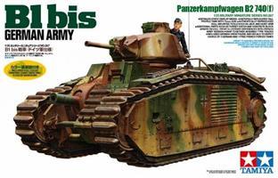 B1 bis German Army Panzerkampfwagen B2 740(f)
