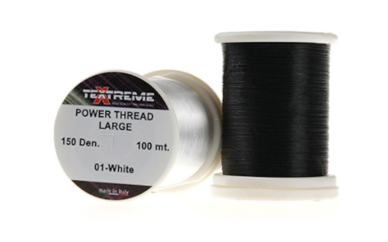 Power thread 10 den- Vit