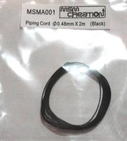Piping Cord 0,48mm black