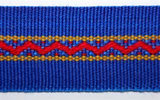Monterte Damebånd - Blå