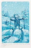 Kristian Finborud - Jenta med snø i håret