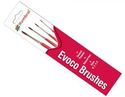 Evoco Brush Pack - Size 0/2/4/6