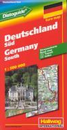 Tyskland södra 1:500 000