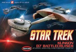 Star Trek Klingon D7 Battlecruiser