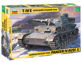 Pz.Kpfw. IV Ausf. E German Medium Tank