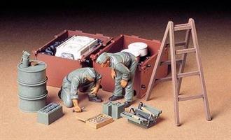 Tank Engine Maintenance Crew Germany