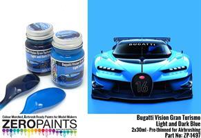 Bugatti Vision Gran Turismo - Light and Dark Blue