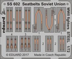 Seatbelts Soviet Union WW2 fighters