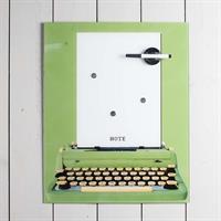 Whiteboard skrivmaskin