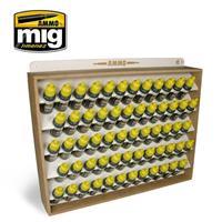 17 mL bottles  STORAGE SYSTEM