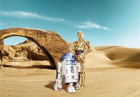 Komar fototapet Star Wars Lost Droids