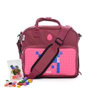 E1HANDMEGGIS Mellanstor väska Rosa