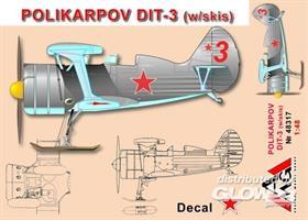 Polikarpov DIT-3 (w/skis)