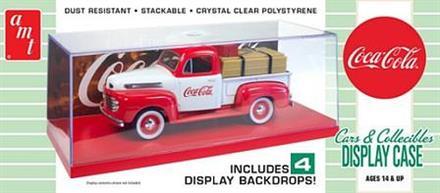 AMT Coca Cola Cars & Collectibles Display Case