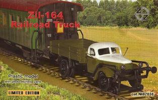Zil-164 Soviet Railroad Truck