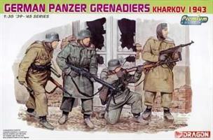 German Panzergrenadiers Kharkov 1943 - Premium Edi