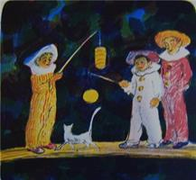 Dang Van Ty-Venter på månen