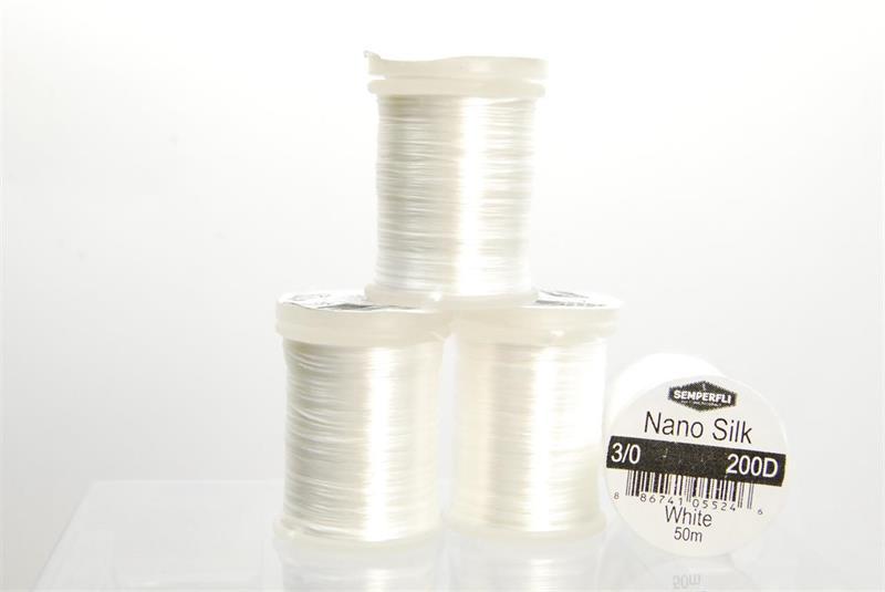 Nano Silk 200 Denier 3/0 White