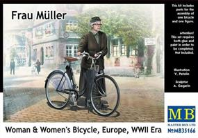Frau Müller Woman & Women's Bicycle Europe, WWII e