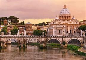 Komar fototapet Rome