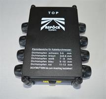 Lös kopplingsbox ASS1 - 8 utgångar