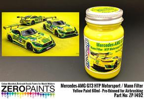 Mercedes-AMG GT3 HTP Motorsport / Mann Filter Yell