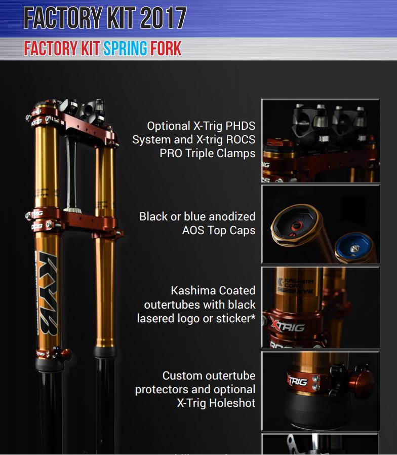 KYB Factory Kit Spring Fork
